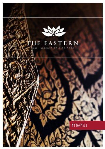 The-Eastern-a-la-Carte-Menu