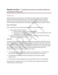 Partners in Care – A collaboration between Family ... - GPSC