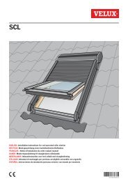 ENGLISH: Installation instructions for rod operated roller ... - Velux