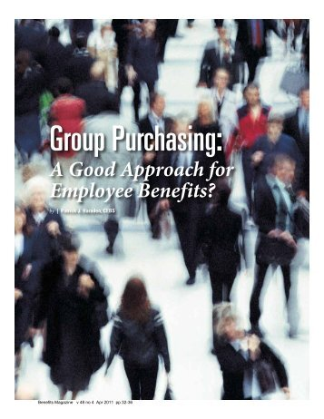 Group Purchasing: - International Foundation of Employee Benefit ...