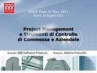 project management - MADE expo