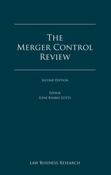 The Merger Control Review - BARNERT EGERMANN ILLIGASCH ...