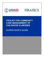 Supervisor's Guide - basics