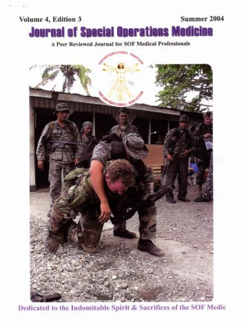 Journal of Special Ops Medicine - SAM Medical Products