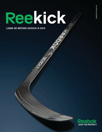 LIGNE DE BÂTONS SICKICK III 2010 - Hockey2K
