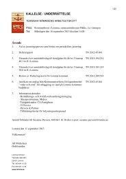 Ärende KALLELSE / UNDERRÄTTELSE - Lomma kommun