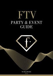 PARTY & EVENT GUIDE