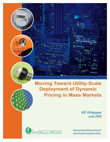 Moving Toward Utility-Scale Deployment of ... - The Brattle Group