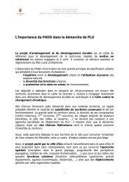 L'importance du PADD dans la démarche de PLU - Aix-en-Provence