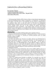 Exploración reumatológica en Pediatría - Asociación Vasca de ...