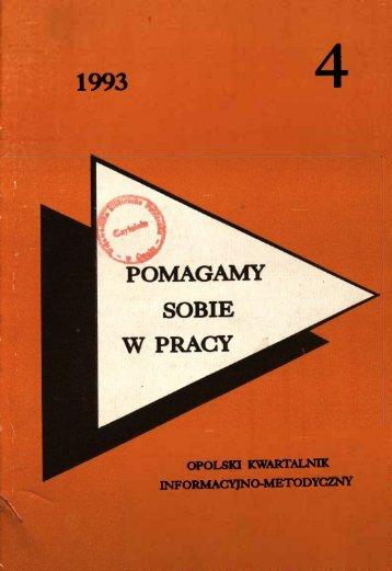 opolski kwartalnik informacyjno-metodyczny - Bibliotekarz Opolski