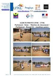 Tournoi de Futsall du samedi 29 novembre 2008 - Lycée Français ...