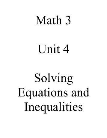 Math 3 - Ciclt.net
