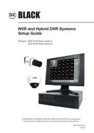 NVR and Hybrid DVR Systems Setup Guide - Supercircuits Inc.