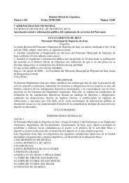 1 REGLAMENTO SERVICIOS PATRONATO - Ayuntamiento de Irun
