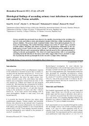Histological findings of ascending urinary tract infections in ...