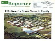 RIT's New Era Draws Closer to Reality - 400 Bad Request ...