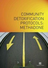 community detoxification protocols: methadone - Drugs.ie