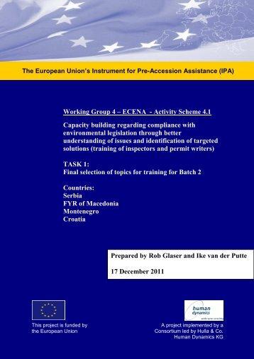 RENA WG 4 Dec 2011 final assessment needs ... - Renanetwork.org