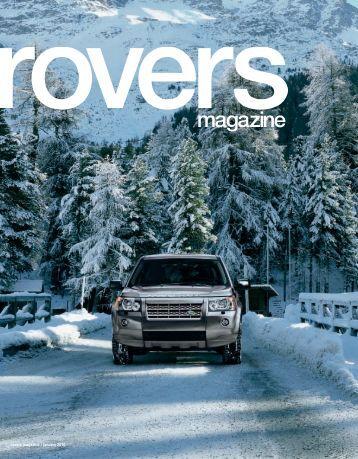 rovers magazine / january 2010 - Rackspace Hosting