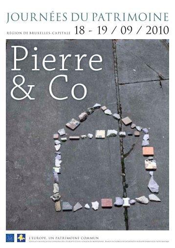 brochure complète des Journées du Patrimoine ... - Ville de Bruxelles