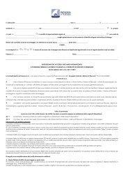 Disposizioni 2010 per l'accesso veicolare ... - Marina di Pescara