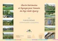 Plan de paysage - Quercy caussadais - Pays Midi-Quercy