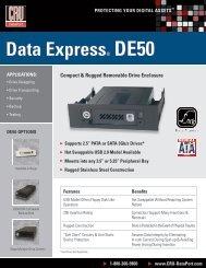 Data express® De50 - Storesys