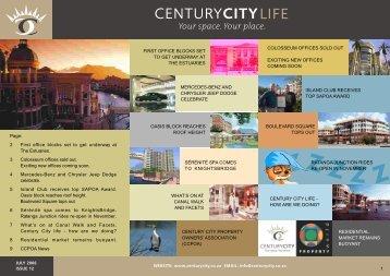 01 July 2006 Newsletter - Century City