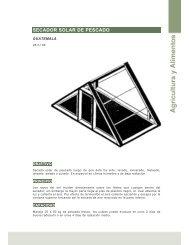 Secador solar de pescado (Guatemala ) - Ideassonline.org