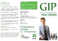 GIP: folheto informativo.pdf - O Portal do Concelho de Vila Viçosa