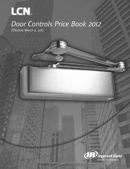 LCN Price Book - Access Hardware Supply