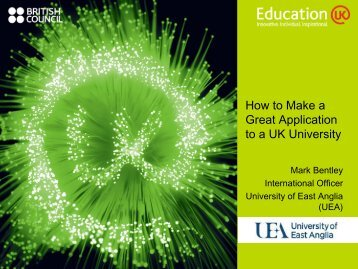 How to Make a Great Application to a UK University - Education UK