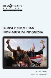 KONSEP ZIMMI DAN NON-MUSLIM INDONESIA - Democracy Project