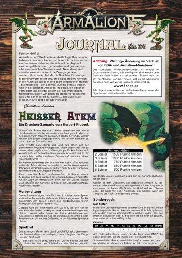 Heisser Atem - Armalion-Kompendium