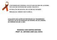 avaliação das ações de prevenção da transmissão ... - Epi2008