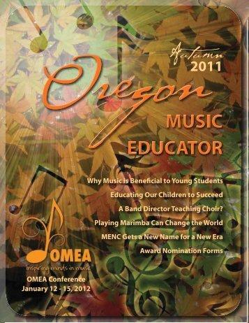 OMEAfall11-web (2).pdf - Oregon Music Education Association