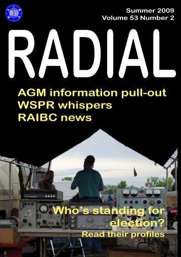 Sample Radial magazine - raibc