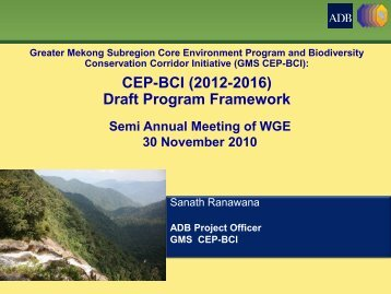CEP-BCI_2012-16andGEF - Greater Mekong Subregion ...