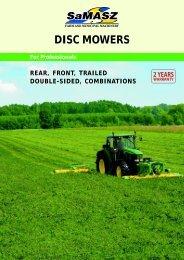 disc mowers - Samasz