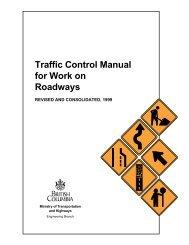Traffic Control Manual for Work on Roadways 1999 - Sonic Drilling Ltd.