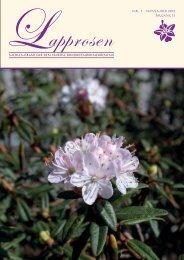 Lapprosen nr 3 2012 - Den norske Rhododendronforening