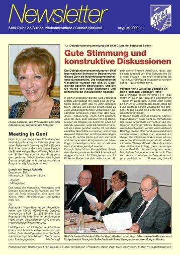 Gute Stimmung und konstruktive Diskussionen - Skal International ...
