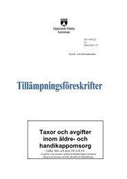 Taxor och avgifter.pdf - Upplands Väsby kommun