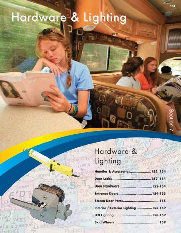 Hardware & Lighting - BR Wholesale RV & Marine