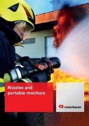 Nozzles and portable monitors - Rosenbauer International AG