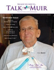 Ventilator Issue Fall 2010 - Passy-Muir