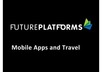 Mobile Apps and Travel