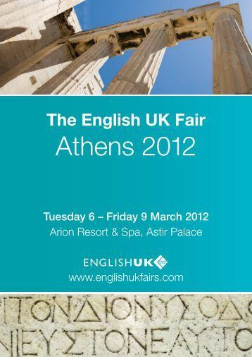 The English UK Fair Athens 2012
