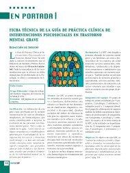 EN PORTADA - Consejo General de Colegios Oficiales de Psicólogos